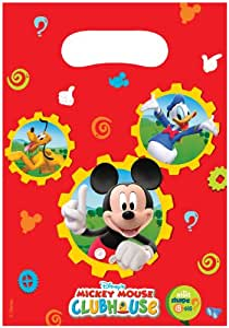 Amscan party Bags - Mickey Mouse (6 bags)