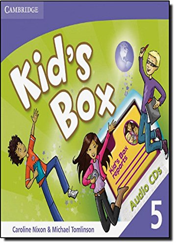 Kid's Box 5 Audio CDs (3)