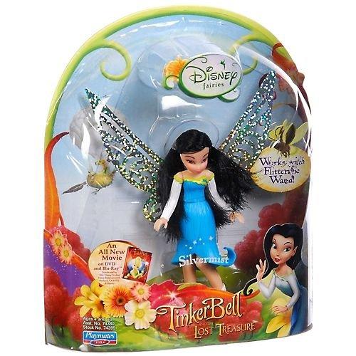 "Disney Fairies 3.5"" Silvermist Flitterific Fairy Blue by Tinker Bell"