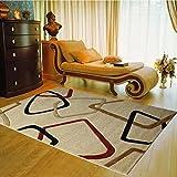 Flatworld® Home Decor Art Natural Rug Collection Area Rug Set Mat Rug for Door/living Room/kitchen/dinning Room/pets (Carved Flower)