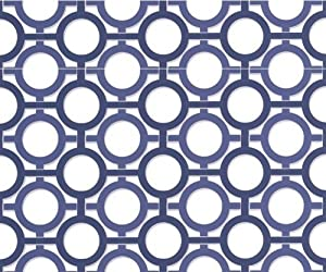 Graham & Brown Kelly Hoppen Geometric Wallpaper Roll, 32-353 by Graham & Brown