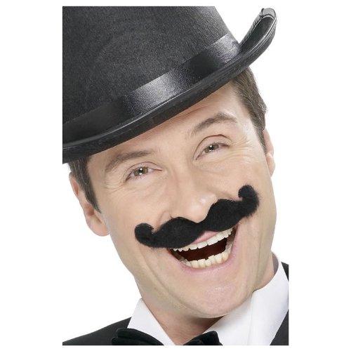 Handle Bar Mustache Black