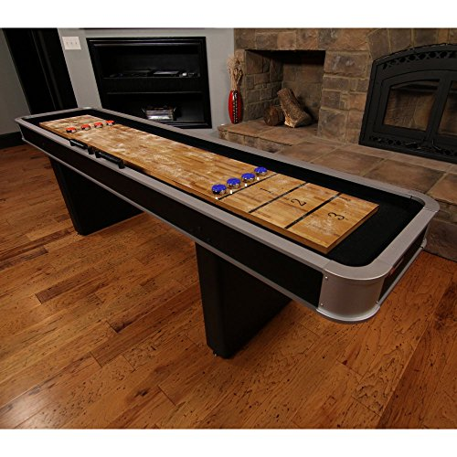 Cheapest Prices! Atomic 9 ft. Platinum Shuffleboard Table