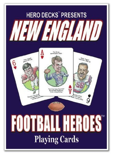 Hero Decks - New England Patriots - Playing Cards