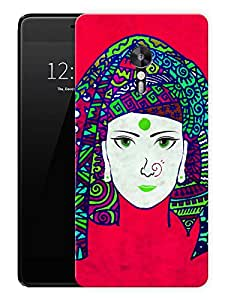 "Indian Tribal Woman BeautifulPrinted Designer Mobile Back Cover For ""Lenovo Zuk Z2 Pro"" (3D, Matte, Premium Quality Snap On Case)"