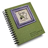 A Cooking Journal - Avocado Green Hard Cover