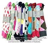 Fancy Stripe Colorful Cotton Socks for men (10 PAIR - Argyle Style)