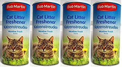 4 Pack Bob Martin Cat Litter Freshner Meadow Fresh Scent 500g - Just Simply Sprinkle