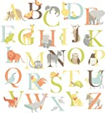 Wall Pops WPK0835 WPK0835 Alphabet Zoo Kit Baby Wall Decals