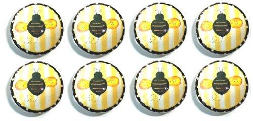 Set Of 8 Bumblebee Dresser Drawer Knobs front-1028831