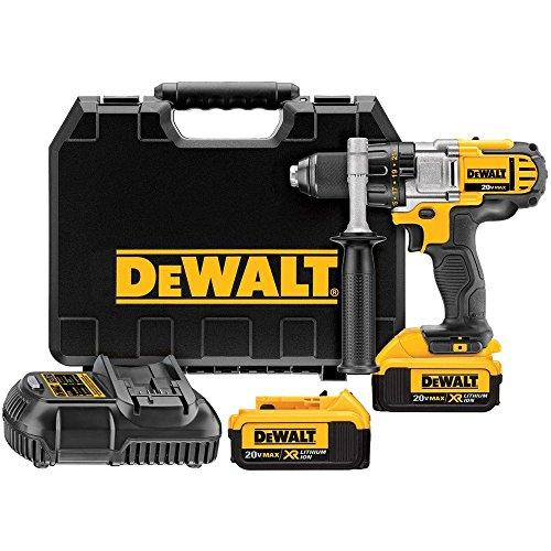 DEWALT - 20-Volt Max Lithium-Ion 1/2 in. Cordless Premium 4.0 Ah 3-Speed Drill/Driver Kit -