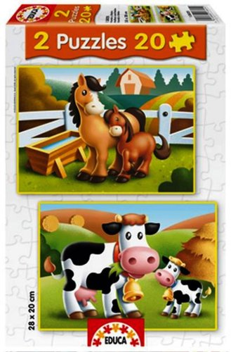 Cheap Fun Educa Animal Puzzles Mothers and Babies (B0012ZURQY)