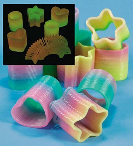 Glow-In-The-Dark Mini Rainbow Magic Springs (1 dz)
