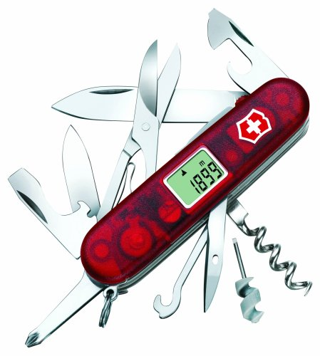 VICTORINOX Traveller Lite, rot transparent