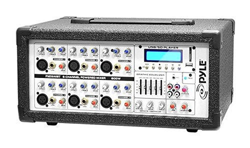 PYLE PMX640BT DJ Mixer (Crossover For Mixer Amplifier compare prices)