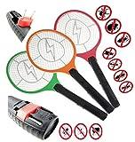 1 Elektrische Fliegenklatsche mit AKKU Insekten Vernichter STAR-LINE® Aufladbar Fliegenfänger