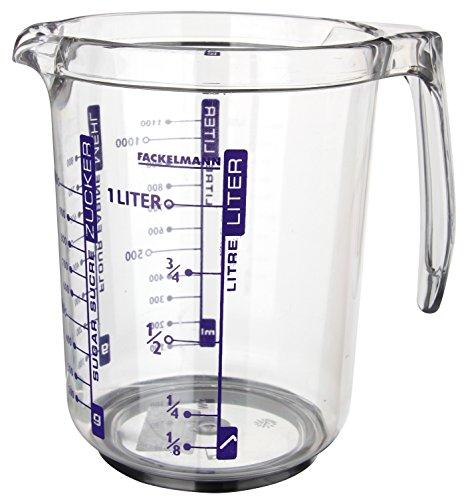 Fackelmann 41355 Dosatore professionale in plastica 1 l
