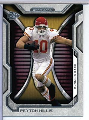 2012 Topps Strata Hobby Football Card #101 Peyton Hillis - Kansas City Chiefs - NFL Trading Cards