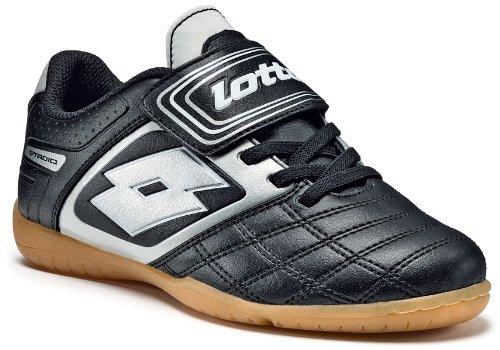 lotto-sport-stadio-potenii-700-idjrs-chaussures-de-sport-football-garcon-noir-schwarz-black-silver-3