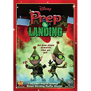 Prep and Landing Movie on DVD