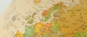【2月10日頃再入荷予定】 【アウトレット特別特価】 地球儀 [ライト無し] インテリア 子供用 学習 おすすめ 行政図 球径25cm オルビス Orbys