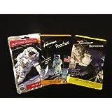 Bundle -3 Items: Astronaut Space Food 3pk Peach, Banana, Strawberry