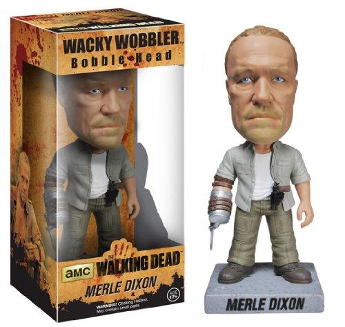 The Walking Dead Wacky Wobbler Bobble-Head New Merle 18 cm Funko