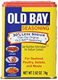 Old Bay Seasoning with 30 Percent Less Sodium - 2.62 oz. can