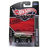 HOT WHEELS 2011 GARAGE EDITION WAL-MART EXCLUSIVE GREEN 1967 FORD BRONCO DIE-CAST REPLICA
