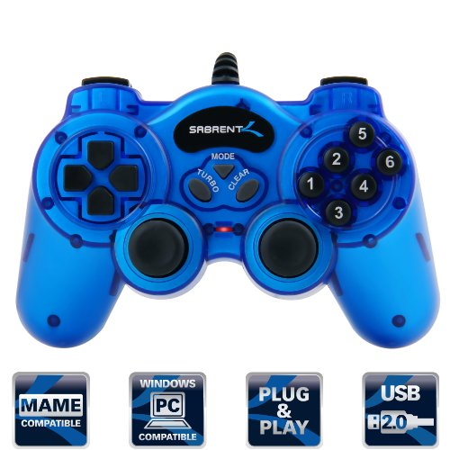 Sabrent Twelve-Button USB 2.0 Game Controller
