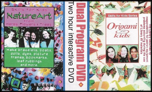Dual Program Interactive DVD: Nature Art From Herbs, Flowers and Trees / Origami for Kids [Skills for Kids Series]