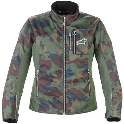 Alpinestars Womens Stella Rebel Air-Flo Textile Motorcycle Jacket Camo Medium