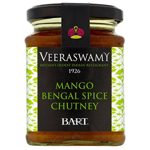 Bart Veeraswamy chutney de mangue Bengal Spice 300g