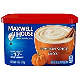 Maxwell House International Latte, Pumpkin Spice, 9.0-Ounce