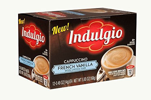 Indulgio 72 Count K-Cups (French Vanilla Cappuccino)