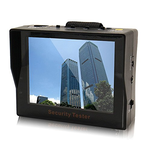 """Portable Audio Video Security Tester Cctv Camera 3.5"""" Tft Led Audio Test Monitor Network Line Detection"""