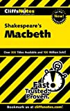 CliffsNotes on Shakespeares Macbeth (Cliffsnotes Literature Guides)