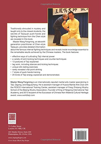 The Essence of Taijiquan Push-Hands and Fighting Technique