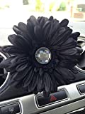 Yankee Candle Car Vent Clip Gerbera - Black Cherry Scented Vent Stick - (Black Gerbera)