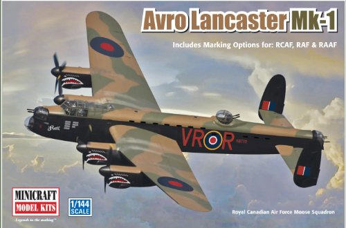 Minicraft Models Avro Lancaster MK-1 1/144 Scale