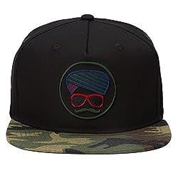 Urban Monkey Premium Camouflage Adjustable Baseball Turban Snapback Free Size Unisex Hip Hop Cap