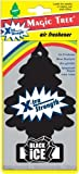 Magic Tree Car/Van Universal Air freshener Extra Strength Black Ice Flavour/Scent
