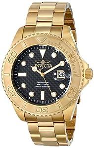 Invicta Men's 15191 Pro Diver Analog Display Swiss Quartz Gold Watch