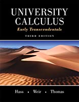 University Calculus: Early Transcendentals, 3rd Edition Front Cover