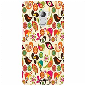Design Worlds Back Cover For Lenovo K4 Note - Phone Cover Multicolor