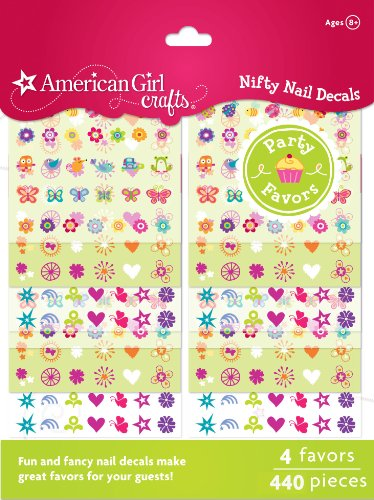 American Girl Crafts Nail Sticker Craft Favors (Nail Decals compare prices)