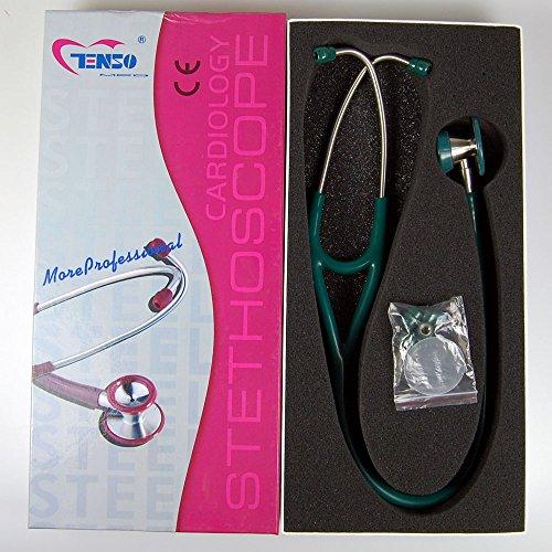 lincoln-scuro-verde-tubo-valuemed-cardiologia-stetoscopio