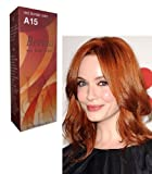 Berina Hair Professional Permanent Hair Color Cream (A 15) Red Blonde Color