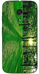 Timpax protective Armor Hard Bumper Back Case Cover. Multicolor printed on 3 Dimensional case with latest & finest graphic design art. Compatible with Motorola Moto -G-2 (2nd Gen )Design No : TDZ-24305