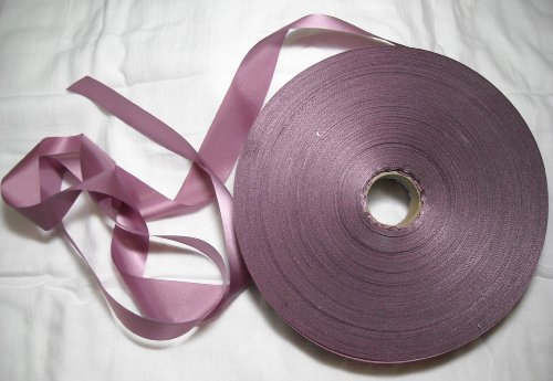 Dusty Rose Ribbon 1 1/4